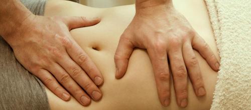 Massage du ventre Mandala